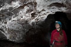 Gypsum Passage (ChunkyCaver) Tags: cave caving caver spelunking ofd ogofffynnonddu gypsumchrystals gypsumpassage gypsum chamber crystals