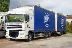 DAF Le Relais de Favieres in L'Hopital sur Rhins 17.9.2016 4312 (orangevolvobusdriver4u) Tags: rn7 route national 7 routenational7 routebleue 2016 archiv2016 france frankreich n7 lerelaisdefavieres lhopitalsurrhins daf dafxf105460 xf 105 ltrtransports vialon rhonealpes truck lkw camion