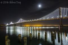 Bay Bridge! (Abbeenormal - Abbee Day) Tags: cityscape citylights nightphotography bridge sanfrancisco bayarea california
