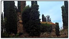 Ermita de St. Iscle i Sta. Victòria, Monestir de Montserrat (el Bages) (Jesús Cano Sánchez) Tags: elsenyordelsbertins canon ixus310hs catalunya cataluña catalonia barcelonaprovincia bages montserrat monestir monasterio monastery ermita hermitage romanic romanico romanesque catalunyaromanica catalunyamedieval middleages enunlugardeflickr