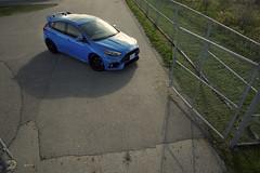Ford Focus RS (B. R. Murphy) Tags: ford focus rs nikon d610 car portrait automobile hot hatch hothatch blue 2017
