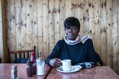 north london cafe L1008780 (rafhuggins) Tags: lady north london uk cafe caff m240 leica black tea