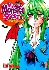 "My Monster Secret:  ""Actually I Am "" 1 (Vernon Barford School Library) Tags: 9781626922389 eijimasuda eiji masuda actuallyiam 1 one 1st first mymonstersecret vampire vampires highschool highschools highschoolstudents secrecy secrets manga japanese japan vernon barford library libraries new recent book books read reading reads junior high middle vernonbarford fiction fictional novel novels paperback paperbacks softcover softcovers covers cover bookcover bookcovers graphic graphicnovel graphicnovels youngadult youngadultfiction ya"