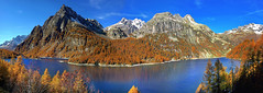 giro giro Lago (art & mountains) Tags: alpi alps devero parconaturale lago cime vette creste autunno fall bellezza armonia silenzio contemplazione vision dream larici spirit hiking arbola