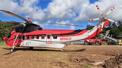 Construction Helicopters Sikorsky S-61N N906CH (SjPhotoworld) Tags: caribbean netherlandantilles antilles stmartin stmaarten sxm tncm stpieters cableworks construction n906ch sikorsky helicopter aviation canon challenge transport constructionhelicopters s61n