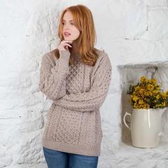 Unisex aran wool sweater (Mytwist) Tags: unisex wool sweater jumper aran jersey fisherman caled style fashion irish ireland love passion wife wedding redhead