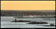 Lady Liberty & Ellis Island (rhythmandcode) Tags: hdr cloudhdr nyc liberty ellis island