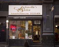 Barber Shop (Manzari) Tags: nyc manhattan barber storefronts