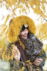 Amarillo de otoo (kinojam) Tags: retrato portrait belleza beauty amarillo yellow otoo autumn fall kino kinojam canon canon6d