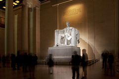 Lincoln Memorial @ Night  (11) (smata2) Tags: lincolnmemorial washingtondc dc nationscapital canon monument memorial postcard