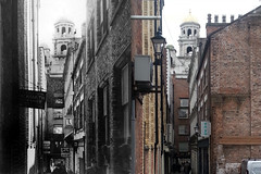 Leather Lane, 1960s and 2016 2 (Keithjones84) Tags: liverpool oldliverpool merseyside thenandnow history localhistory rephotography