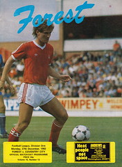 Nottingham Forest vs Coventry City - 1982 - Cover Page (The Sky Strikers) Tags: nottingham forest coventry city football league division one ground official match day programme 40p