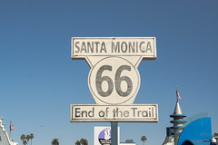 End of the trail Route 66 (alexgeorgeny) Tags: california los angeles san diego laguna beach la sd griffith lamps david bowie chinese roosevelt beaches santa monica west coast color dark night light fitness nike nikon d7100 cmos thanksgiving 2016 dog rescue water air ocean bay smoke bikes