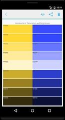 User contrast palette (IMAGERVILLE) Tags: palette color assist match wheel balance contrast