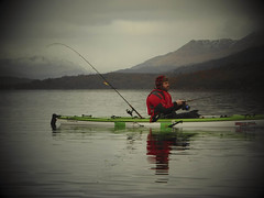 Kayak fishing Loch Lomond (Nicolas Valentin) Tags: aplusphoto abigfave alba aqua adventure fishing freedom kayakfishing kayak kayakscotland kayaking kayakfishingscotland kayakpike scotland scenery sky scenic clouds cloud cold