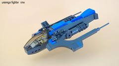 Unemga fighter (RMX) 01 (F@bz) Tags: sf starfighter rmx space scifi starship spaceship