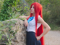 Shooting Erza Scarlet - Montrieux - 2015-08-13- P1180522 (styeb) Tags: scarlet cosplay tail fairy shooting été 13 xml aout retouche 2015 montrieux erza