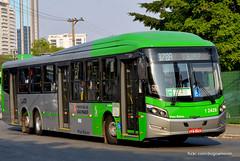 1 2429 (American Bus Pics) Tags: urban bus colors buses mercedes automotive millennium caio paulo barra são brt scania omnibus funda