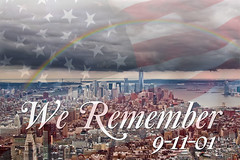 We Remember (LuAnn Hunt) Tags: nyc remember 911 we twintowers tribute neverforget heros 91101