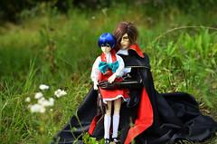 Harlock & Mayu-chan ^_^ (Suliveyn) Tags: anime doll cosplay spirit space pirate captain bjd dollfie soom 78 oyama mayu harlock albator antares xuanzhi illysionspirit illysion