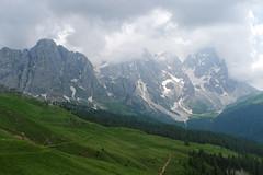 Pale z okolic przełęczy Venegia