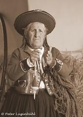 The Old Lady and the Yarn (lugi_ch) Tags: travel people peru inca cuzco cusco sacredvalley urubamba nationalgeographic quechua solyluna lindbladexpeditions urubambavalley wayraranch