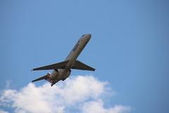Volotea (xwattez) Tags: france plane airport aircraft american boeing transports toulouse 717 aeropuerto blagnac avion amricain aroport 2015 vhicule lfbotls