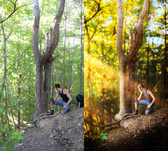 """""""Invasion"""" Before and After. (Dylan Colon Photography) Tags: lighting summer portrait detail colors vertical rural photoshop nikon raw post nj before processing after editing d600"""