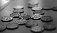 Heptagon (richard STOCKER PHOTOGRAPHY) Tags: light money reflection shade 50 shape pence heptagon
