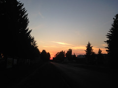 Sunset (adriank1410) Tags: light summer sky holidays memories poland polska wakacje lato wspomnienia iphone5 iphoneography lublinvoivodeship