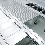 データセンター向け高機能アルミ二重床システムの写真