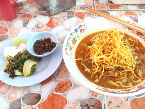Khao Soi (speciality of Chiang Mai)