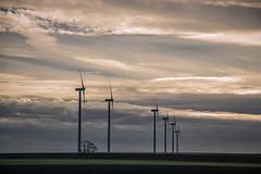 The wind of change.... (marcelplette) Tags: mill germany landscapes marcel energy wind tagebau plette