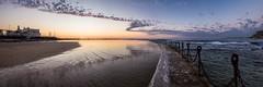 Z (Torkn2U) Tags: ocean panorama sunrise newcastle dawn pano au australia baths newsouthwales oceanbaths
