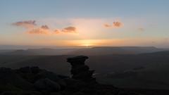 Last Light (danjh75) Tags: sunset clouds haze nikon heather derwent derbyshire boulder goldenhour kinderscout saltcellar d610 gritstones