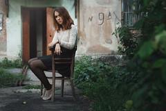 Marina (ivankopchenov) Tags: summer portrait people girl sadness outdoor sorrow