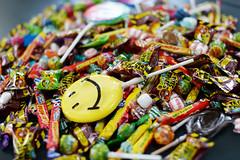 Halloween candy - atana studio (Anthony SÉJOURNÉ) Tags: halloween studio candy sweet tricks anthony sweeties sucks crush bonbons sucette carambar atana séjourné