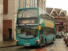 4466 MX61AXG Liverpool on 82 (1280x960) (dearingbuspix) Tags: arriva 4466 arrivanorthwest mx61axg