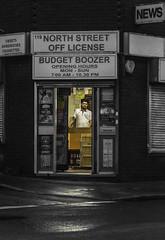 Budget Boozer (dalalderson) Tags: street shop night bristol bedminster shopkeeper offlicence budgetboozer