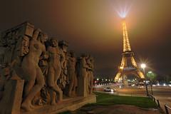 Tour Eiffel Human Energy (Laurent Garric) Tags: paris france tower energy tour eiffel human cop21