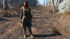 Fallout4 2015-11-30 11-59-52-51 (Beth Amphetamines) Tags: wallpaper clothing screenshot saturated mod colorful sharper 4 redhead more armor lizzy fallout fallout4
