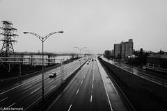 La pluie toujours la pluie (alex.bernard) Tags: morning blackandwhite bw rain canon cityscape noiretblanc outdoor pluie tamron matin longueuil route132 tamron2470 canon5diii