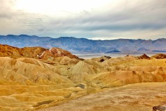 Death Valley Palette (Neal3K) Tags: california yellow desert zabriskiepoint deathvalleynationalpark