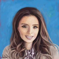 #بورتريه للإعلامية الأردنية دانا أبو خضر @danaabukhader مقدمة البرنامج الصباحي #دنيا_يا_دنيا على قناة #رؤيا #Portrait of Dana Abu Khader the #jordan #jo #tv #anchor @royatv #painting #Drawing #palestine #digitalPainting #Sketching #original #art #draw #ar (ahmad kadi) Tags: instagram بورتريه للإعلامية الأردنية دانا أبو خضر danaabukhader مقدمة البرنامج الصباحي دنيايادنيا على قناة رؤيا portrait dana abu khader jordan jo tv anchor royatv painting drawing palestine digitalpainting sketching original art draw artist sketch sketchbook instaart gallery creative gift birthday vacation kadisart commission الاردن فلسطين رسم