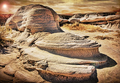 Time Erases Everything (jackaloha2) Tags: rockformations nebraska toadstoolpark textures erosion magicunicornverybest