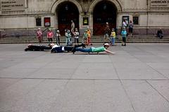 AARHUS FRISKOLE PERFORMING OUR STREET SHOW IN AARHUS. (LARSERAQ) Tags: aarhus friskole streetshow teacher headmaster bispetorv domkirken danmark jylland colors instruments sony rx1rm2 rx1rmk2 rx1rmii rx1rmkii carl zeiss sonnar 235 full frame cmos image sensor larseraq jutland denmark trompet brass skaters bikers skateboard bicycle