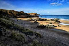 Sango Bay (nigelhunter) Tags: sango bay durness scotland beach coast sand shore dunes rocks sky clouds landscape sutherland