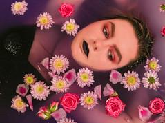Self Portrait 3 (Emily5782) Tags: selfportrait flower floral bathtub people