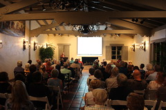 Sue McIntyre speaks at OCHS, Oct. 2016 (Trader Chris) Tags: coronadelmar shermanlibrary shermangardens newportbeach orangecountyhistoricalsociety ochs history