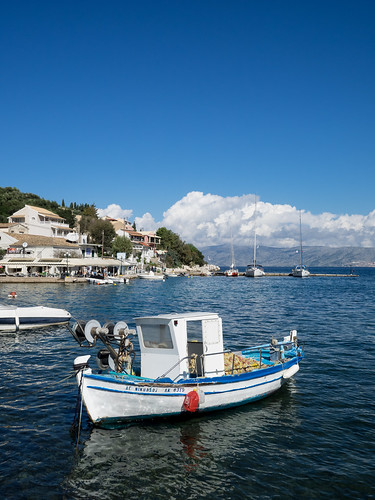 Harbour at Kassiopi